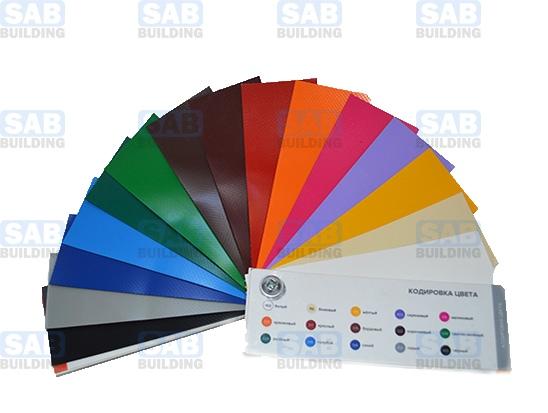 Тент ПВХ цветовая палитра