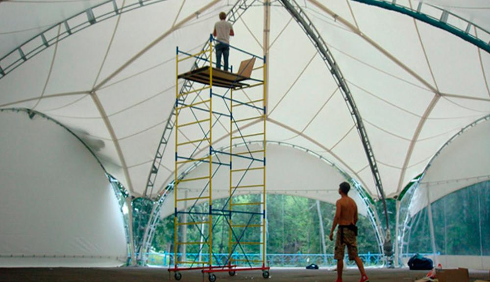 Быстро возводимые шатры