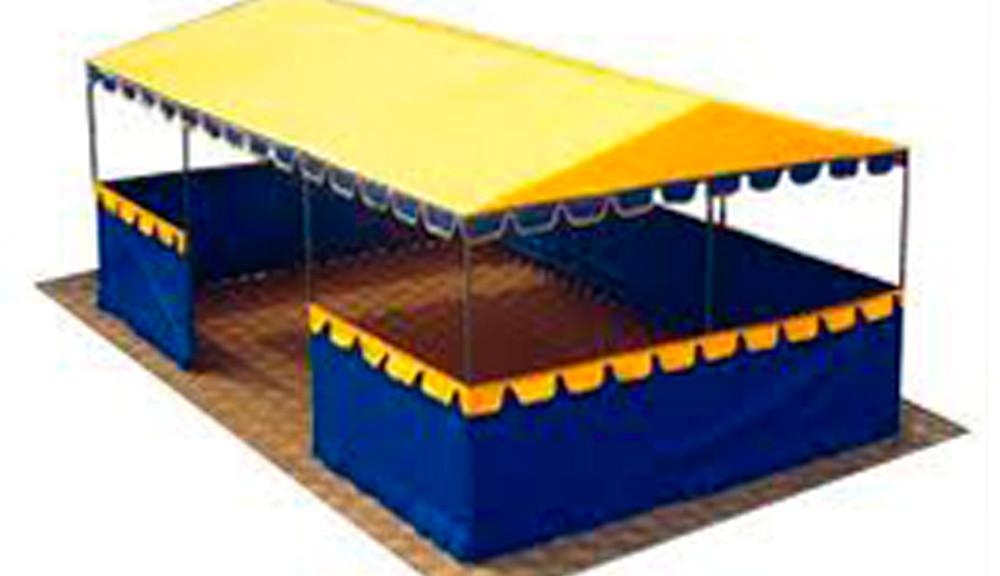Изготовление торговых павильонов