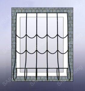 Решетки на окна ковка цена