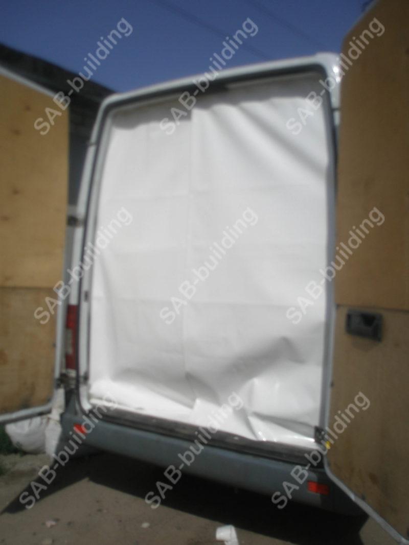 Тент на фургон