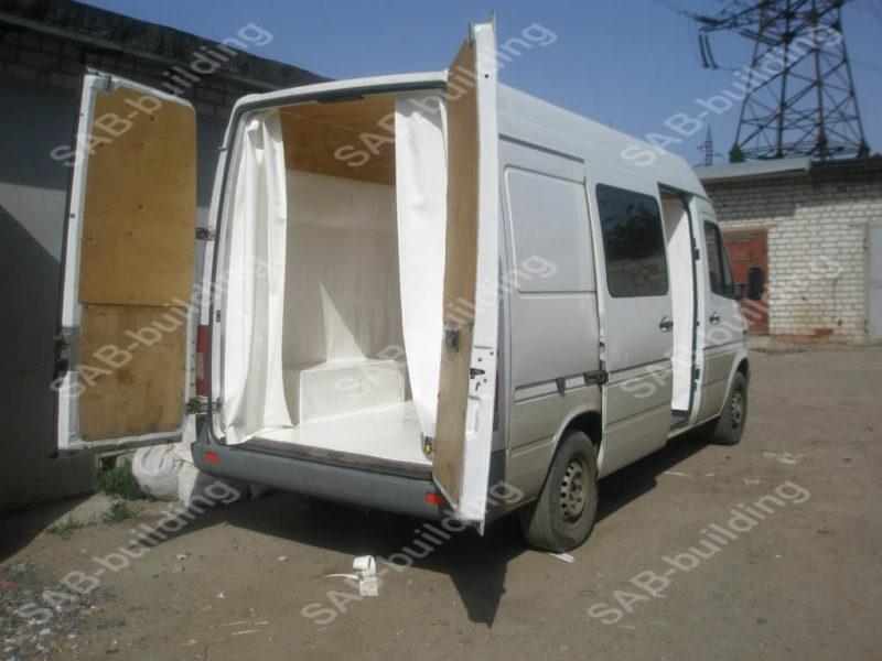 ПВХ и обшивка фургона фанерой