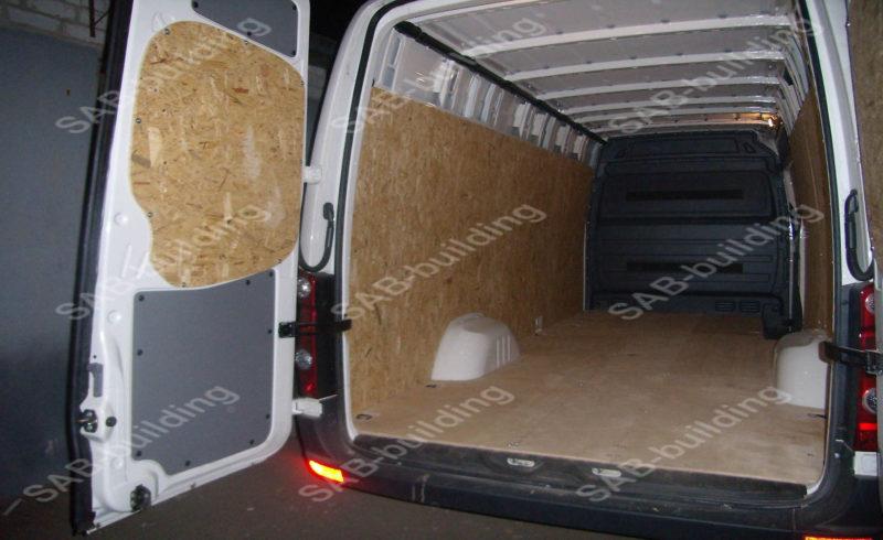Фанерная обшивка фургона
