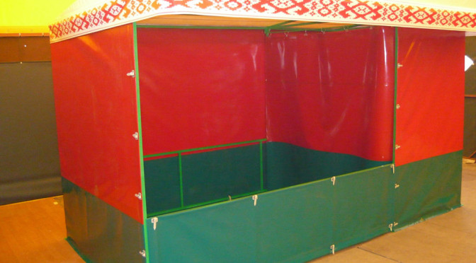 Торговая палатка ПВХ