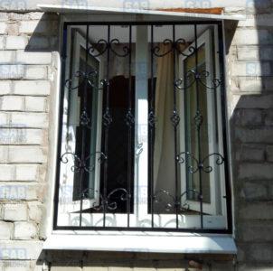 заказать кованые решетки на окна цена