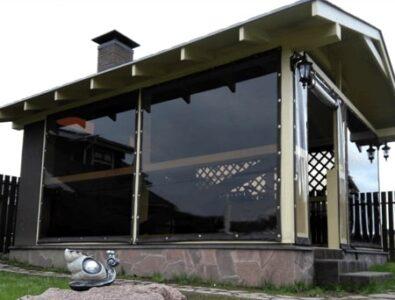 Тонированные мягкие окна