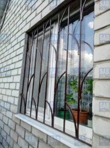 Металлические решетки на окна Харьков