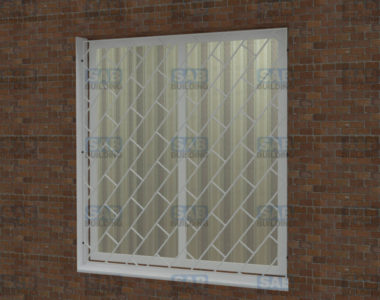 желехные решетки на окна покрашеные белым цветом