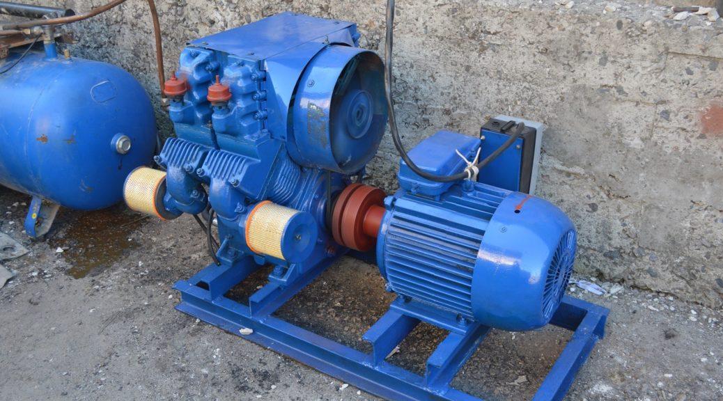Пескоструйный аппарат (компрессор)