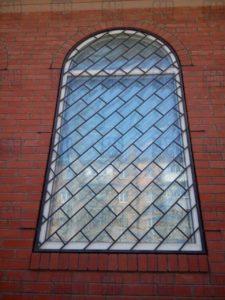 Сварные решетки на окна диагональная кладка