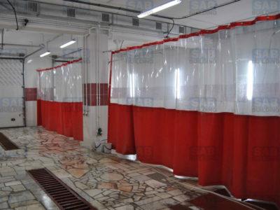 Промышленые шторы ПВХ