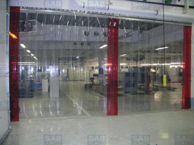 ПВХ шторы промышленные