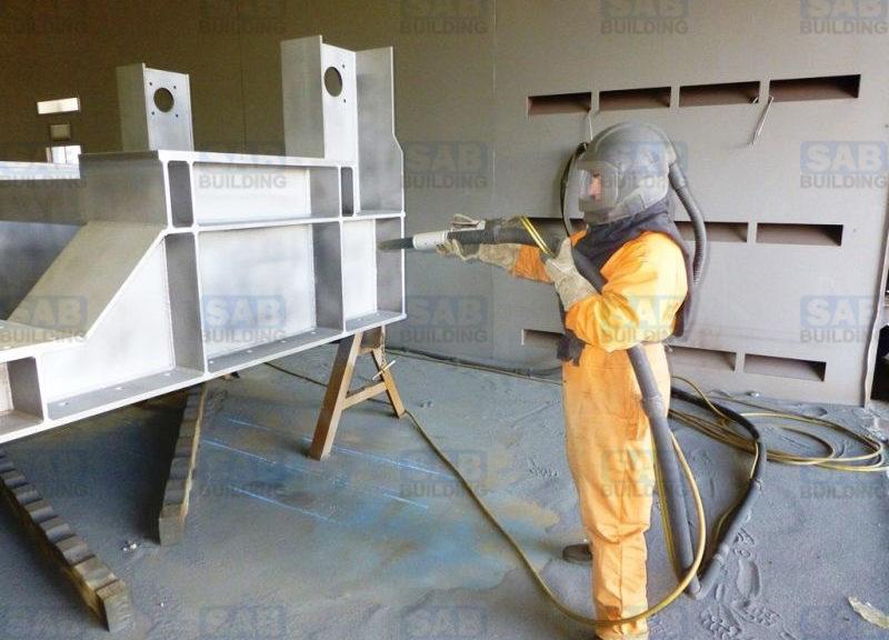 Пескоструйная обработка металла