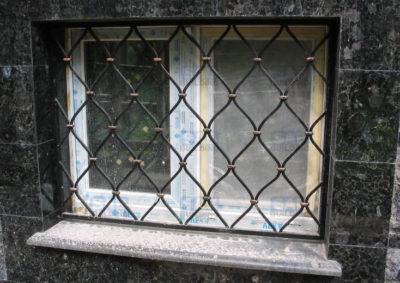 Решетки на окна луковка