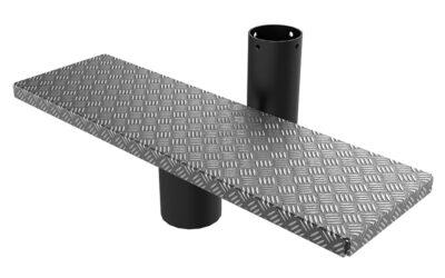 Модуль с металлической ступенькой