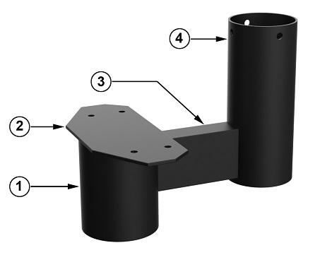 Техническая характеристика модульной лестницы