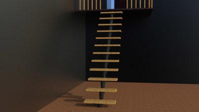 Модульная лестница престиж