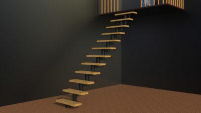 Модульные лестницы в частном доме