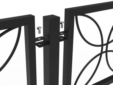 Секционные ограды
