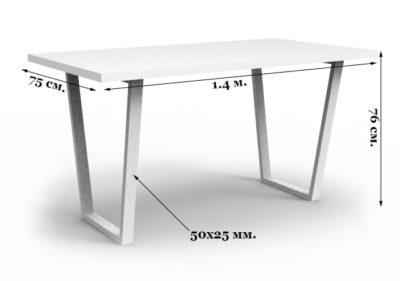 Стол в стиле лофт технические характеристики
