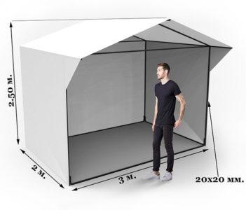 Палатка чертежи