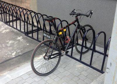 Велопарковка с креплением за раму