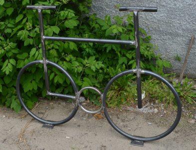 Велопарковка велосипед изготовление