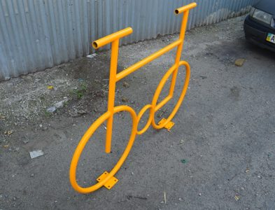 Велопарковка на одно место
