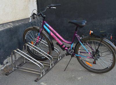 Велопарковка из нержавейки