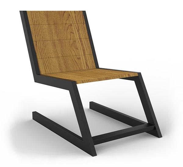 Кресло в стиле лофт