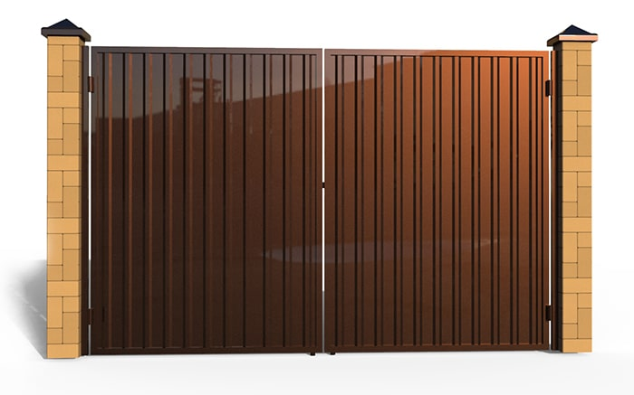 Филенчатые ворота