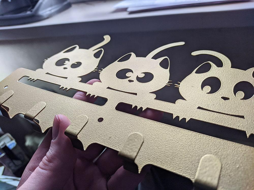 Ключница на стену котики