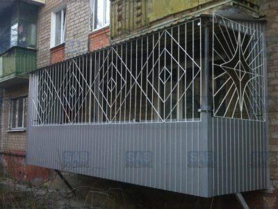 Кованые решетки для балкона