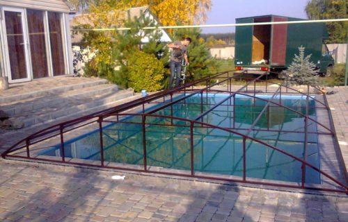 Накрытие для бассейна купить