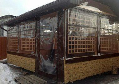 Гибкие окна изготовление