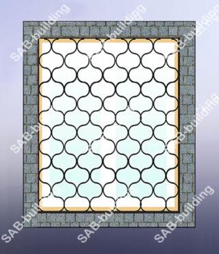 Узорные решетки на окна