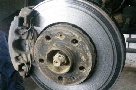 Плохой тормозной диск