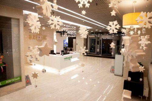 Снежинки из пенопласта купить