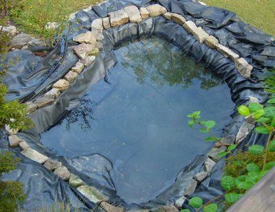 гидроизоляция прудов