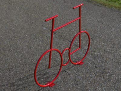 Установка велопарковки