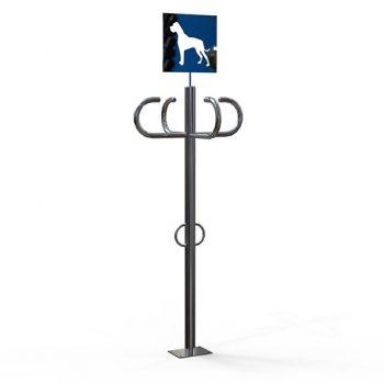 Парковка для собак из нержавейки