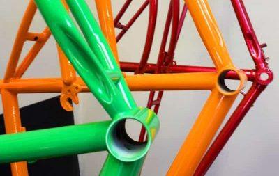 Порошковая покраска велосипеда