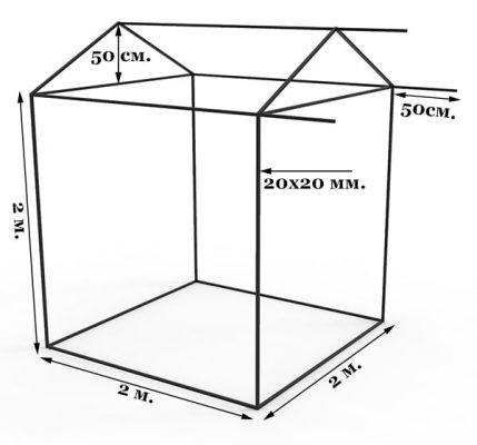Палатка чертеж