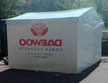 Торговая палатка из ПВХ