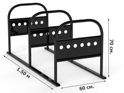 Технические характеристики усиленной велопарковки