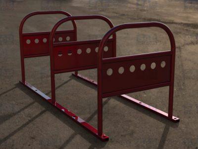 Порошковая покраска велопарковки