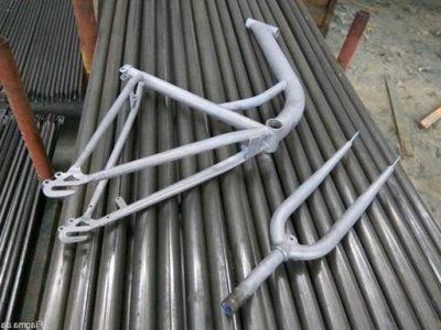 Пескоструйная очистка велосипеда