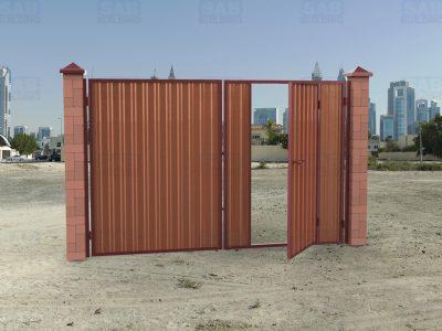 Ворота под профнастил