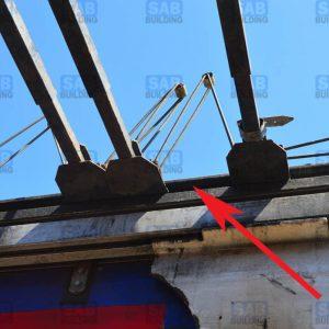 балки сдвижной крыши