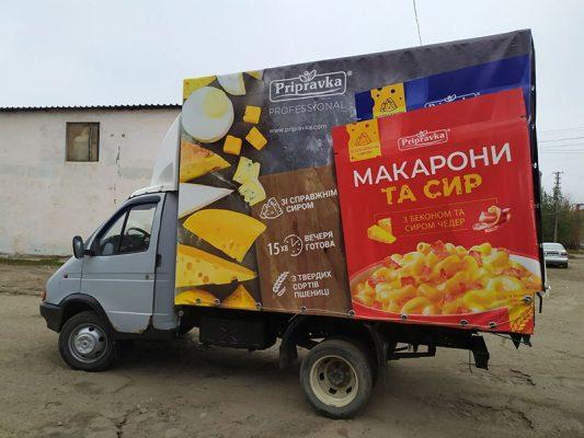 Купить тент на газель в Харькове